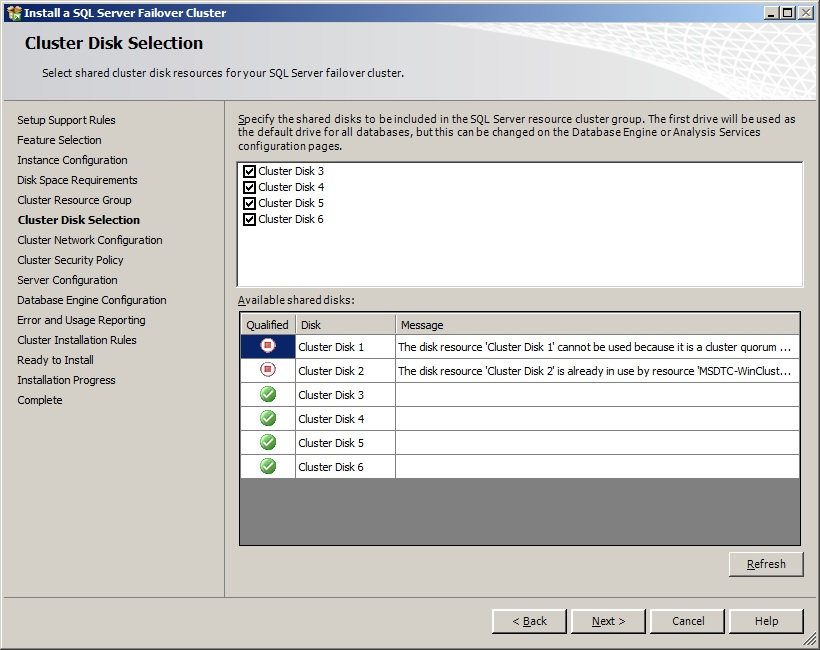 Installing SQL Server 2008/2008R2 Failover Cluster- Part6 – MSSQLTREK