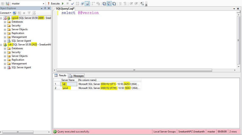 Uninstalling SQL Server 2008/2008R2 Service Pack(s) – MSSQLTREK