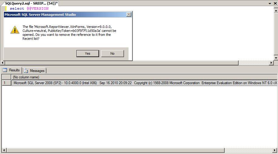 microsoft report viewer 9.0.0.0