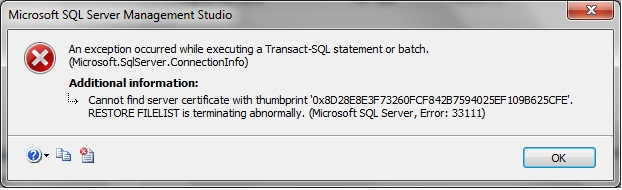 SQL Server Encryption – MSSQLTREK