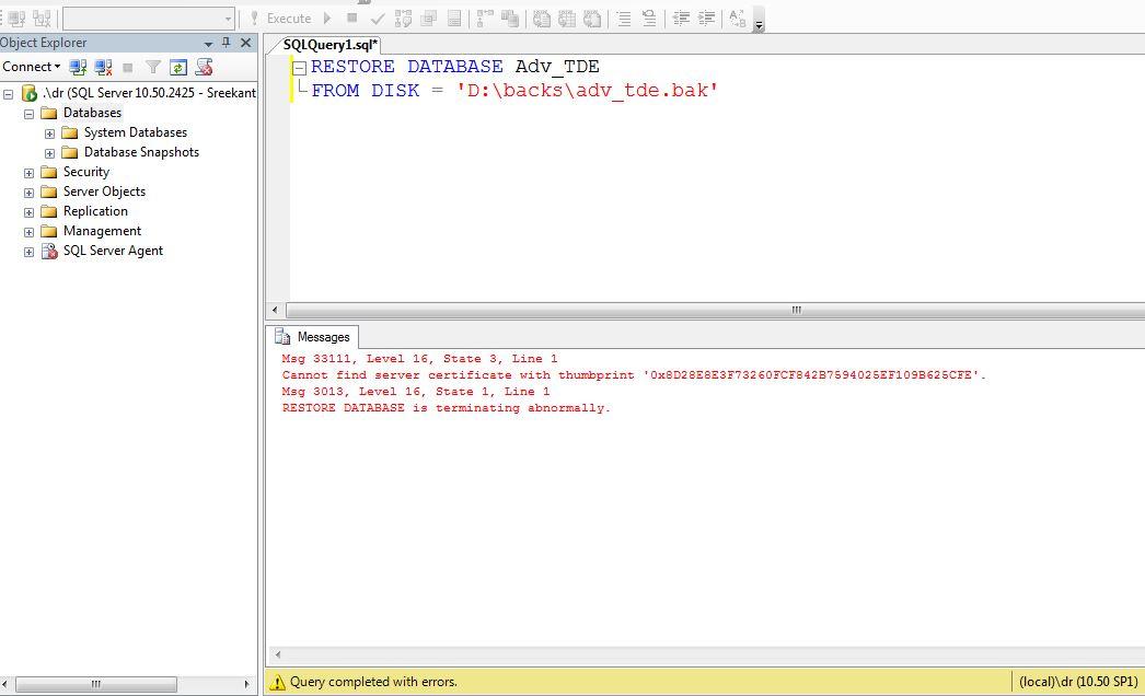 Sql Server Encryption Mssqltrek