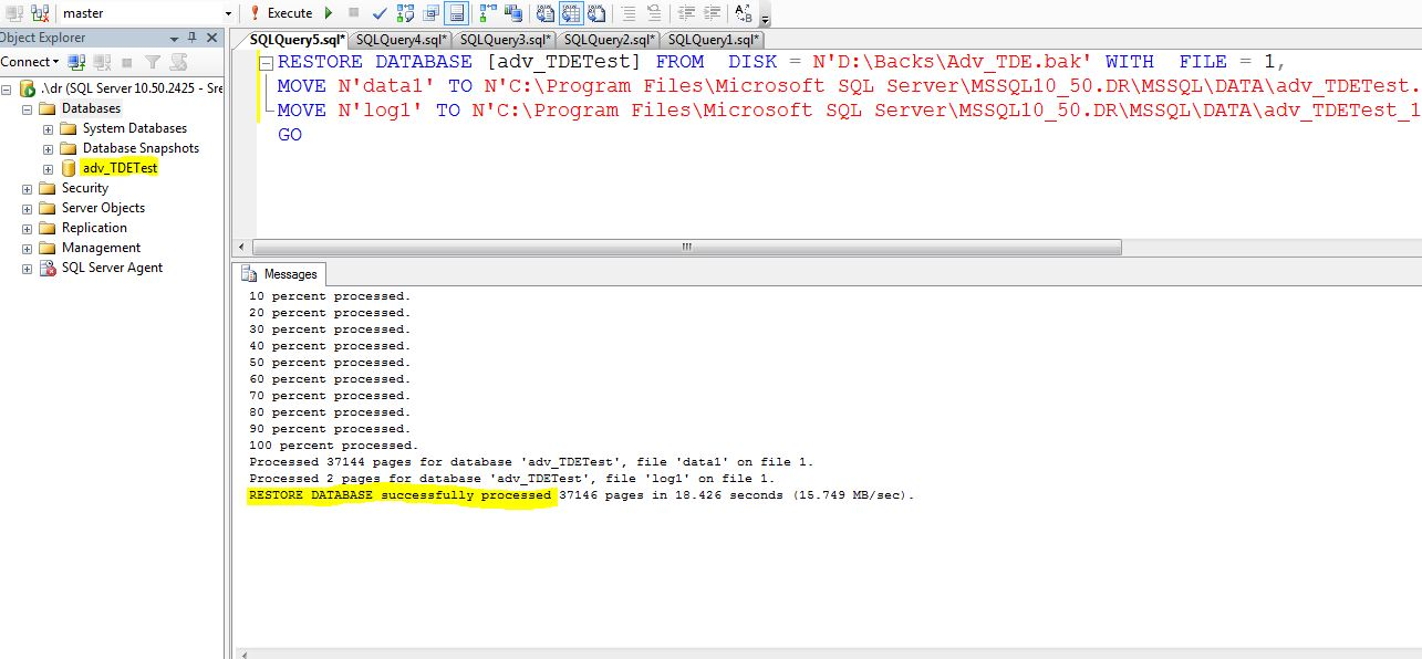 SQL Server Encryption – MSSQLTREK on