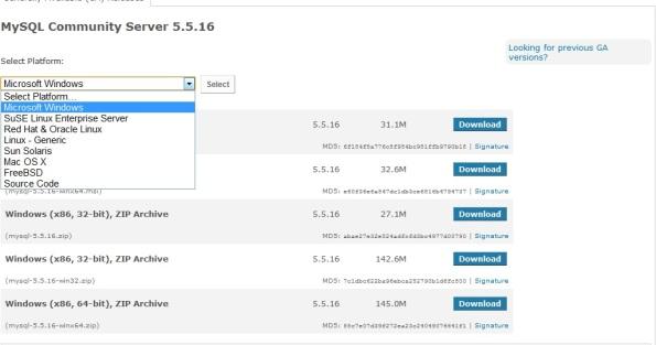 Installing/How to Install MySQL 5 5 on Windows? – CtrlS Knowledge Base