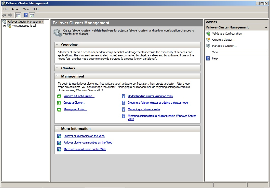 Cluster group in failover cluster manager windows server 2008 typically yadclub Images