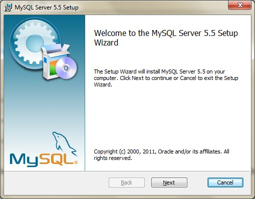 mysql community server 5.5.29