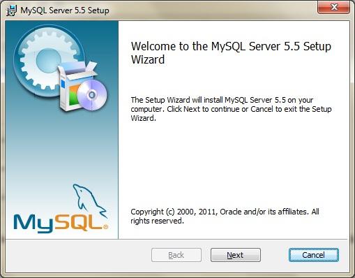 mysql community server 5.5.29