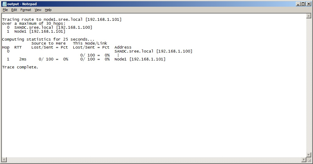 Windows Networking Tools for SQL DBA's – PATHPING/TRACERT/PING