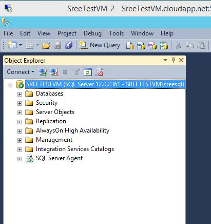 How to connect to Azure VM SQL Server from SSMS? – MSSQLTREK