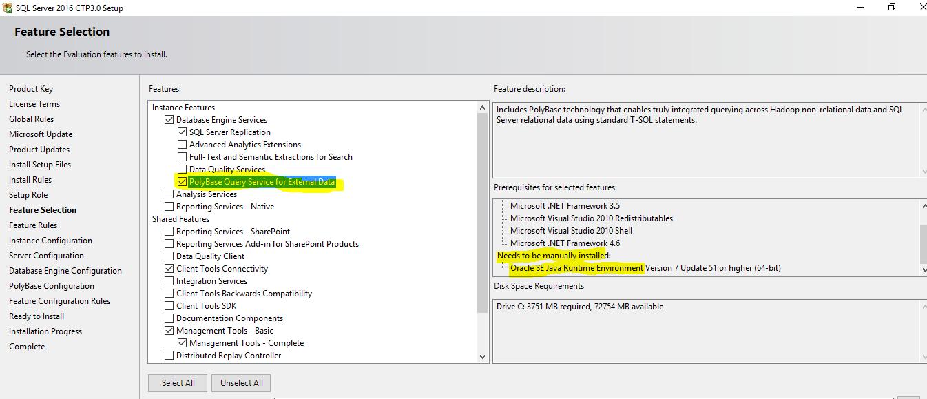 Installing SQL Server 2016 – Is it any different? – MSSQLTREK