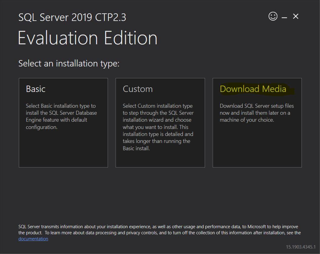 SQL Server 2019 CTP 2 3 is here… – MSSQLTREK